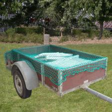 Transportschutznetz, Abdecknetz, Gepäcknetz, zur Ladungssicherung, grün - Größe: 2,50 x 3,00