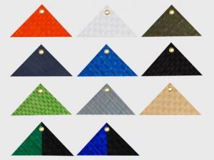 Plane mit Ösen: Gewebeplane, Abdeckplane, Schutzplane versch. Farben. Größe: 1,5 x 4 m, ca. 200g/qm
