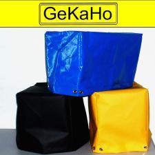 Abdeckhaube für Oberhitze-Grill Single aus PVC-600g/qm - versch. Farben - Größe: 24 x 46 x 36 cm