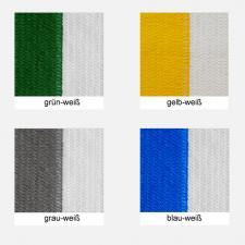 Sichtschutz, Windschutz, Sichtschutznetz, Windschutznetz, Sichtschutz, Windschutz, Zaunblende - versch. gestreifte Farben, Meterware: Zuschnitt 1,00 m breit