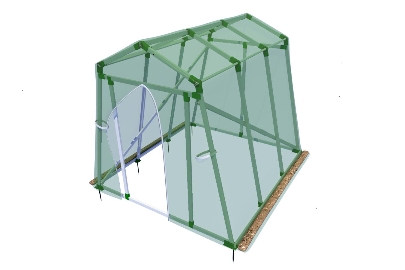 Vario-Quick Foliengewächshaus, Pflanzenzelt, komplettes Gewächshaus als Bausatz