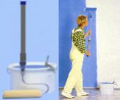 Original Cutterkant Jet Roller: Farbroller, Paint Stick, Jetroller