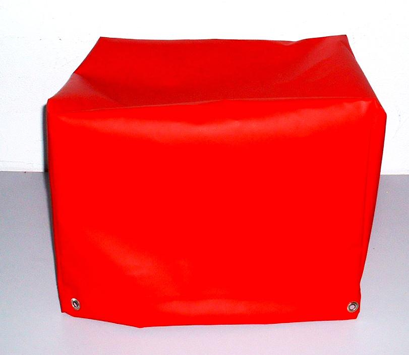 Abdeckhaube für Oberhitze-Grill Twin aus PVC-600g/qm - versch. Farben - Größe: 41 x 46 x 36 cm