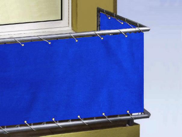 Balkonverkleidung, Balkon Umspannung, Sichtschutz - versch. Farben