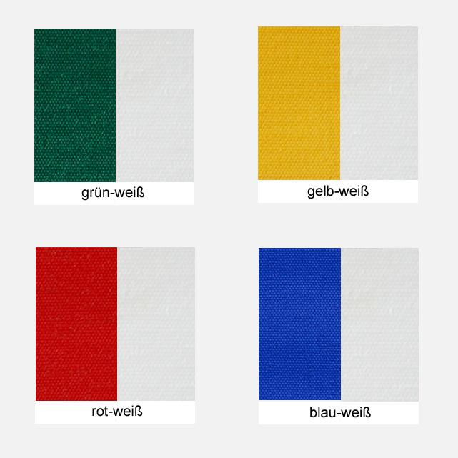 Polyesterstoff, ca. 200g/m² Farbe: versch. Farben, gestreift - Meterware: Zuschnitt ca. 1,70 m breit