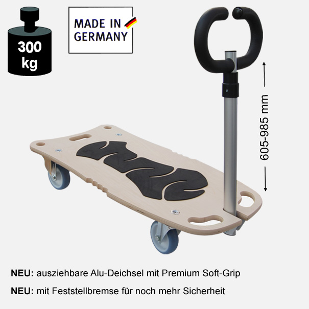 Multimobil: Transporthilfe, Rollbrett, Rollwagen,