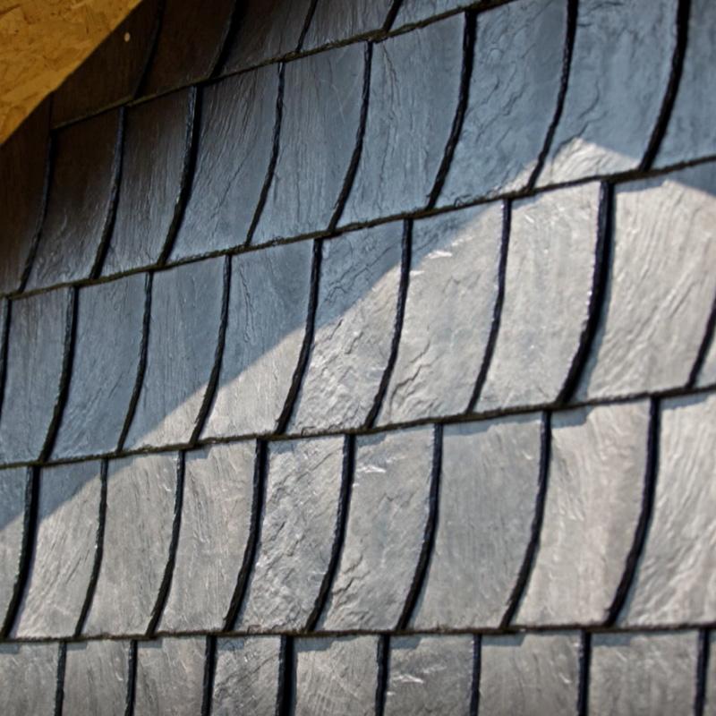 Stabuflex Plastik Dach Ziegel, Bogenschnitt Platte Naturstein-Nachbildung