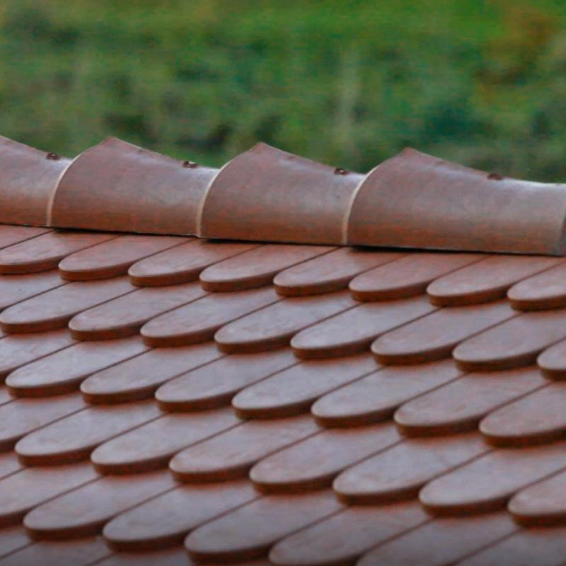 Stabuflex Kunststoffziegel Firstelement für Dachziegel, Firstziegel