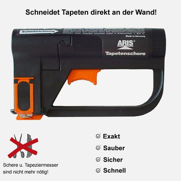 """Tapetenschere """"ARIS"""" Elektro Schere, Tapeten Schere"""