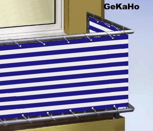 Balkonverkleidung Balkonumspannung Sichtschutz Windschutz Planen
