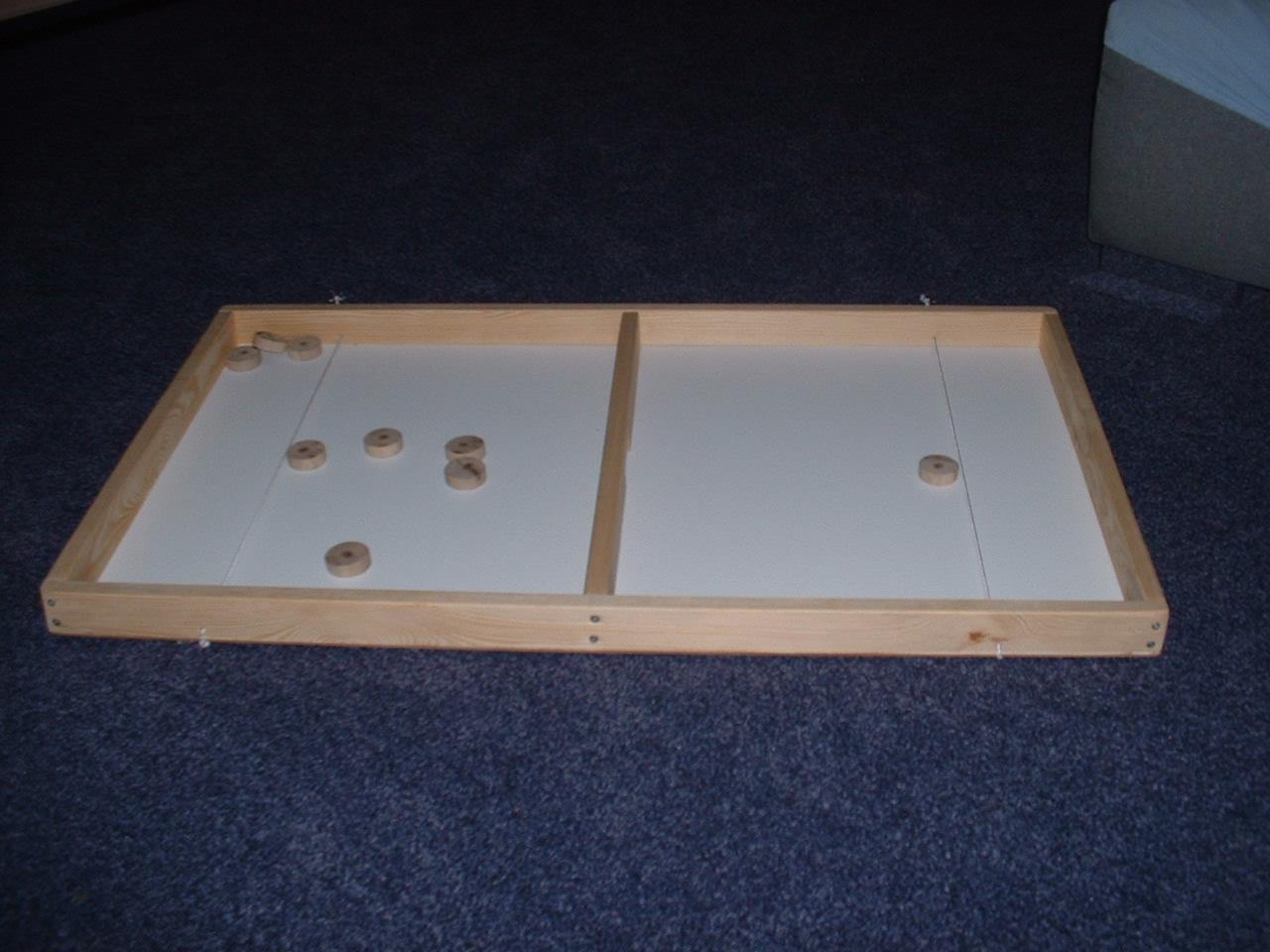 Action Brettspiel,  Schuss durch´s Tor  Tolles Action Spiel mit 10 Spielsteinen und Anleitung[20 5000]