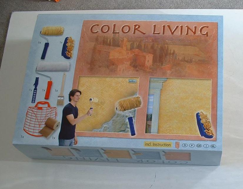 Color Living Set für kreative Wischtechniken[10 1040 00]