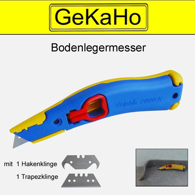 """Cuttermesser """"Delphin"""" 2000 K, Universalmesser, Teppichmesser, Kartonmesser, Paketmesser"""