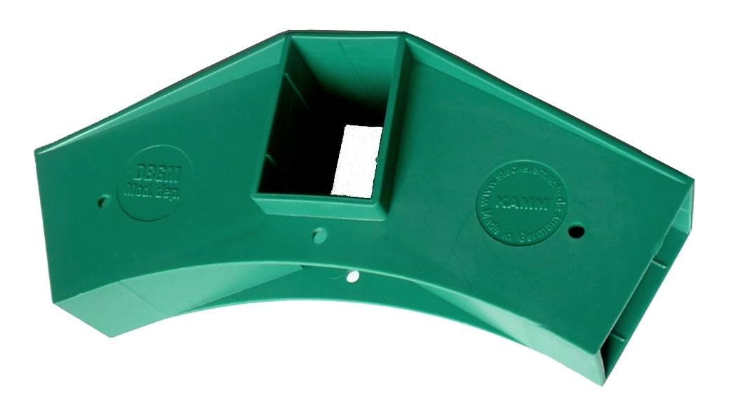 Delta Steckelement extra groß + stabil für Carport Gewächshaus Bootsabdeckung usw. (grün)