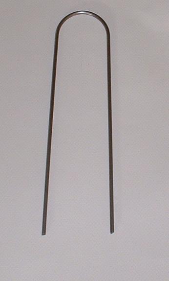 Halteklammer für Folien 20 cm lang, zum Abspannen und Befestigen