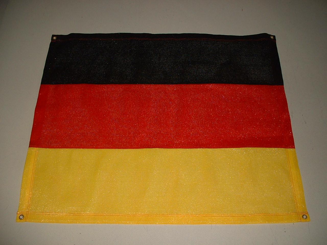 Fußball WM   Balkon Verkleidung   in  National Farbe  Breite: 0,90 m   Länge frei wählbar bis max. 10 m[99 EM 1152 60]