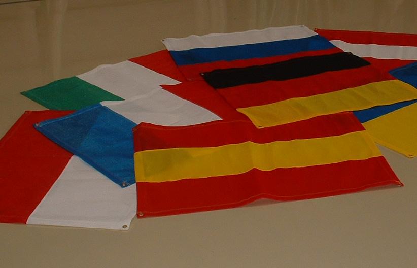 """Fußball WM - """"Flagge"""" - in """"National Farben"""" Größe ca.: 0,90m x 1,20m mit 4 Ösen (in den Ecken)"""