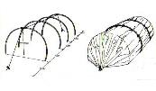 Federstahlstab, Federstahl für den Folientunnel, 4 mm