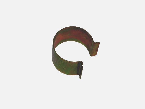 Clipse: Folienklammer, Clip zur Folienbefestigung an Rohren, Metallklammer