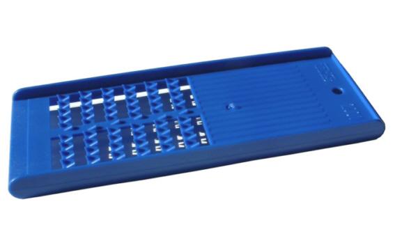 TNS 2001 Reibe, Käsereibe, Kartoffelreibe Farbe: blau