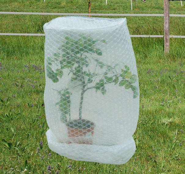 Frostschutzhaube, Frostschutzfolie, Abdeckhaube für Pflanzen - Größe 5: 60 x 150 cm