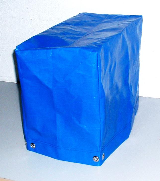 Abdeckhaube für Oberhitze Grill Single aus PE 200g/qm   versch. Farben   Größe: 24 x 46 x 36 cm[04 13 1003 SING]