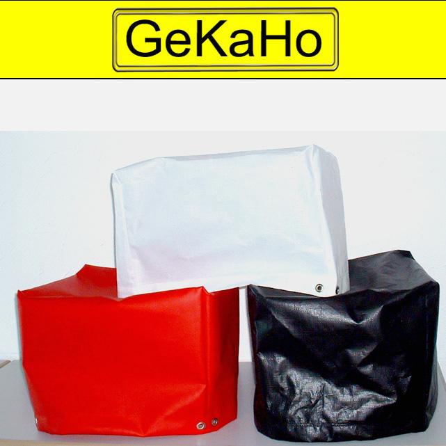 Kleine Abdeckhaube aus PVC 600g/qm   Farbe: schwarz   Größe: 41 x 44 x 36 cm[04 1050 41 44 36]