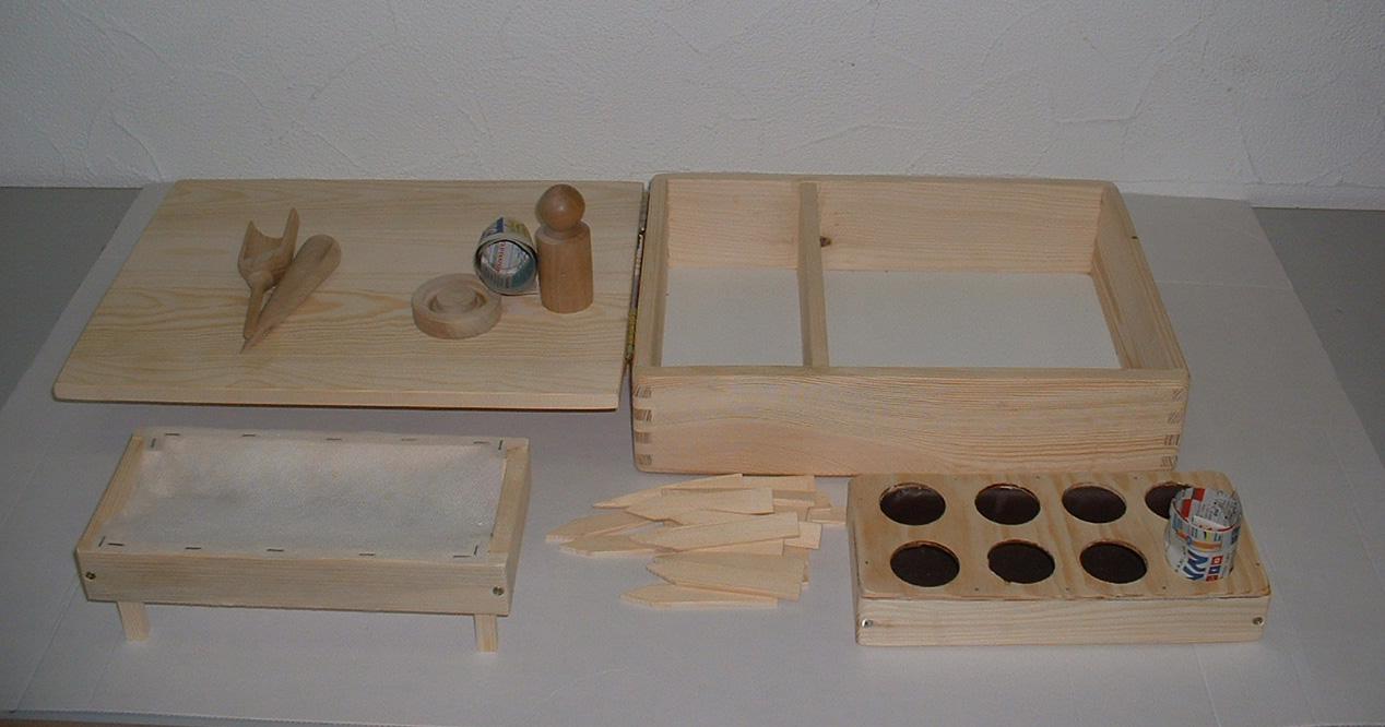 die kleine kinderg rtnerei pflanzen anzucht set f r die kleinen g rtner gekaho. Black Bedroom Furniture Sets. Home Design Ideas