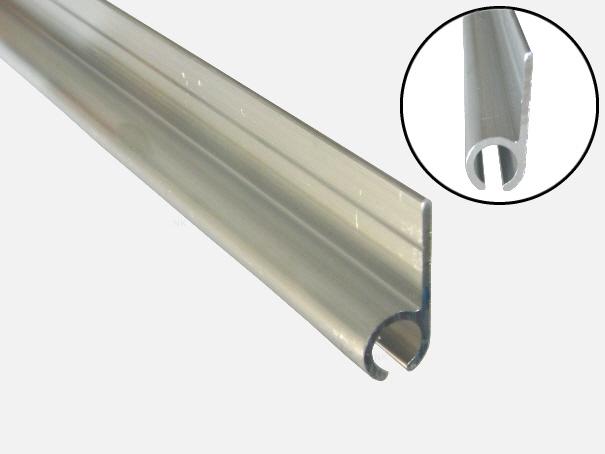 Kederschiene 2 m lang, für Zeltkeder 7,5 mm, Vorzeltkederschiene[06 2000 7 20]