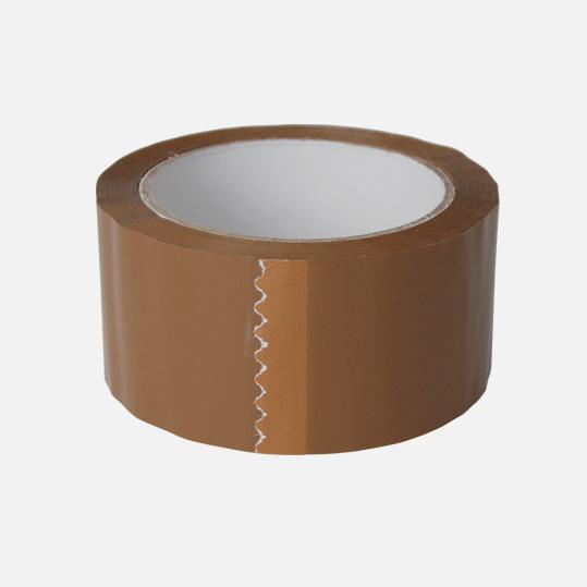 Braunes Packband, Paketband, Klebeband Größe: ca. 50 mm x 66 m