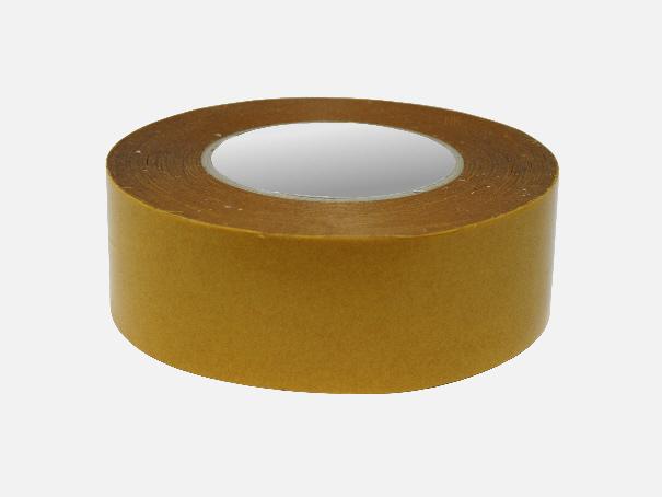 """Doppelseitiges spezial Klebeband, """"Super-PE"""" UV beständiges Klebeband, Reparatur - Klebefolie für Planen und Folien 5 cm breit, transparent, 1 Rolle 50 lfm."""