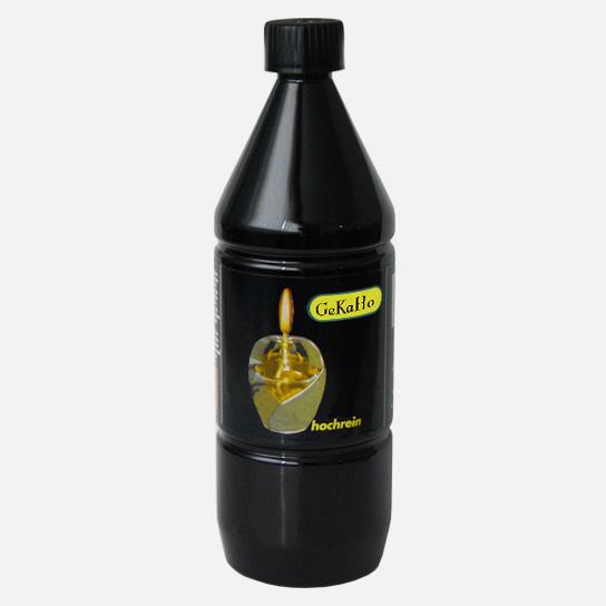 Paraffinnöl, Lampenöl hochrein, für Petroleum Lampen + Heizungen, 1 Liter[15 1110 00]