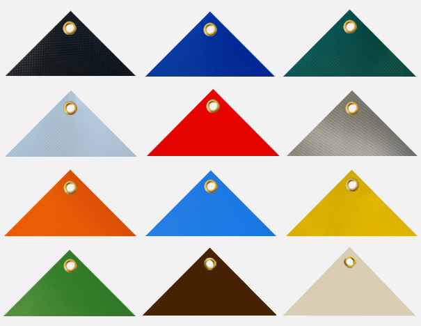 Balkonverkleidung, Balkonumspannung, Blickschutz, Windschutz, Sonnenschutz - Größe: 0,60 x 4 m, ca. 700g/qm