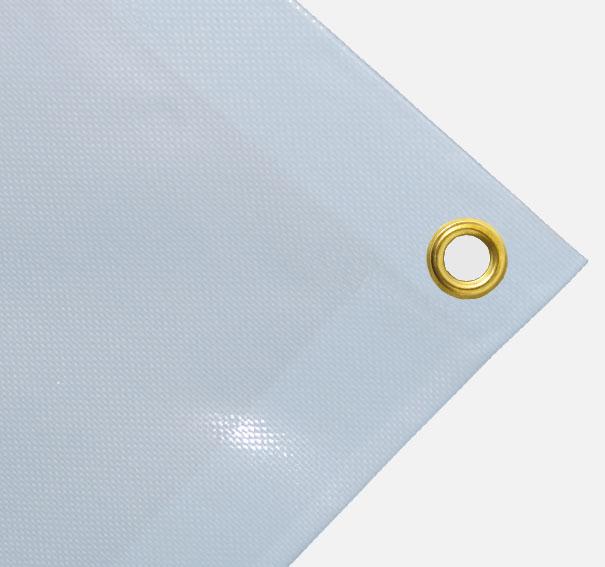 Abdeckplane PVC ca. 600g/m² Meterware - blassblau 2,00 m breit (2. Wahl Ware)