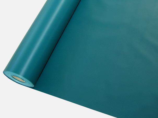 PVC Gewebeplane, Abdeckplane ca. 600g/m², einseitig PVC beschichtet, Farbe: grün - Meterware: Zuschnitt 2,50 m breit