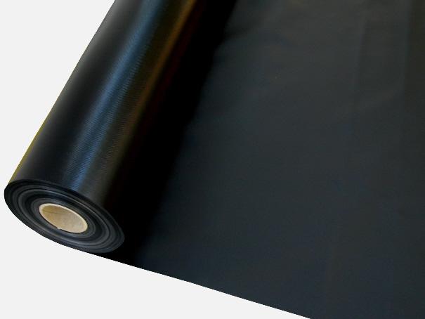 PVC Gewebeplane, LKW Plane ca. 700g/m² Farbe: schwarz - Rollenware: Zuschnitt 2,00 m breit