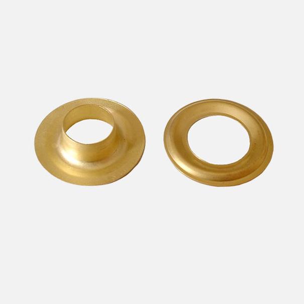 Messingöse goldfarben 12 mm Innendurchmesser