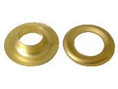 Metallöse, goldfarben, messing natur, 20 mm Innendurchmesser