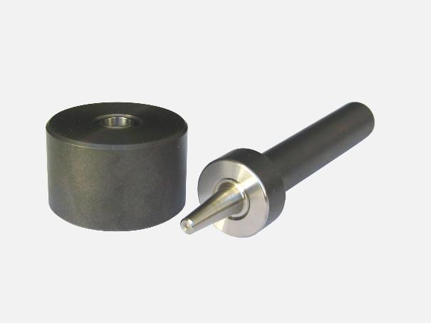 Einschlagwerkzeug für 10 mm Ösen, Einschlagstempel 2 tlg.