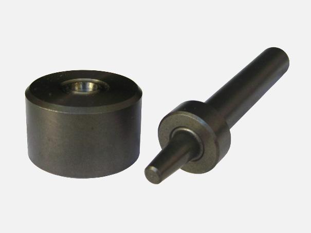 Einschlagwerkzeug für 12 mm Ösen, Einschlagstempel 2 tlg.