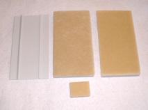 Ersatz-Streichkissen für Jet-Line Streich Set, Kissen 8,5 x 18 cm