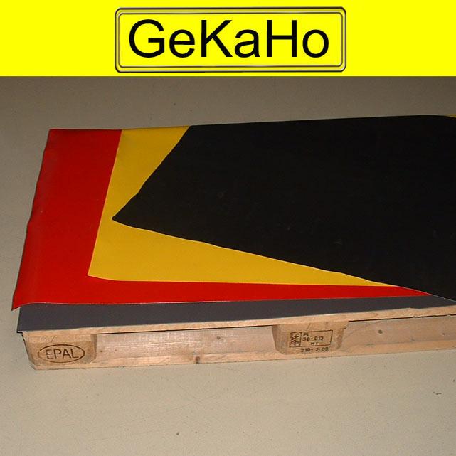 Gebrauchte Paletten-Schutz-Zuschnitte für Euro Palette aus PVC-Größe: 120 x 80 cm (2. Wahl)