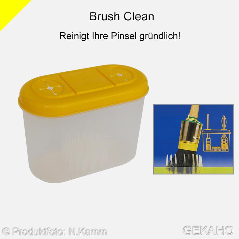 "Pinselreiniger ""Brush-Clean"" Pinsel Aufbewahrungs Box"
