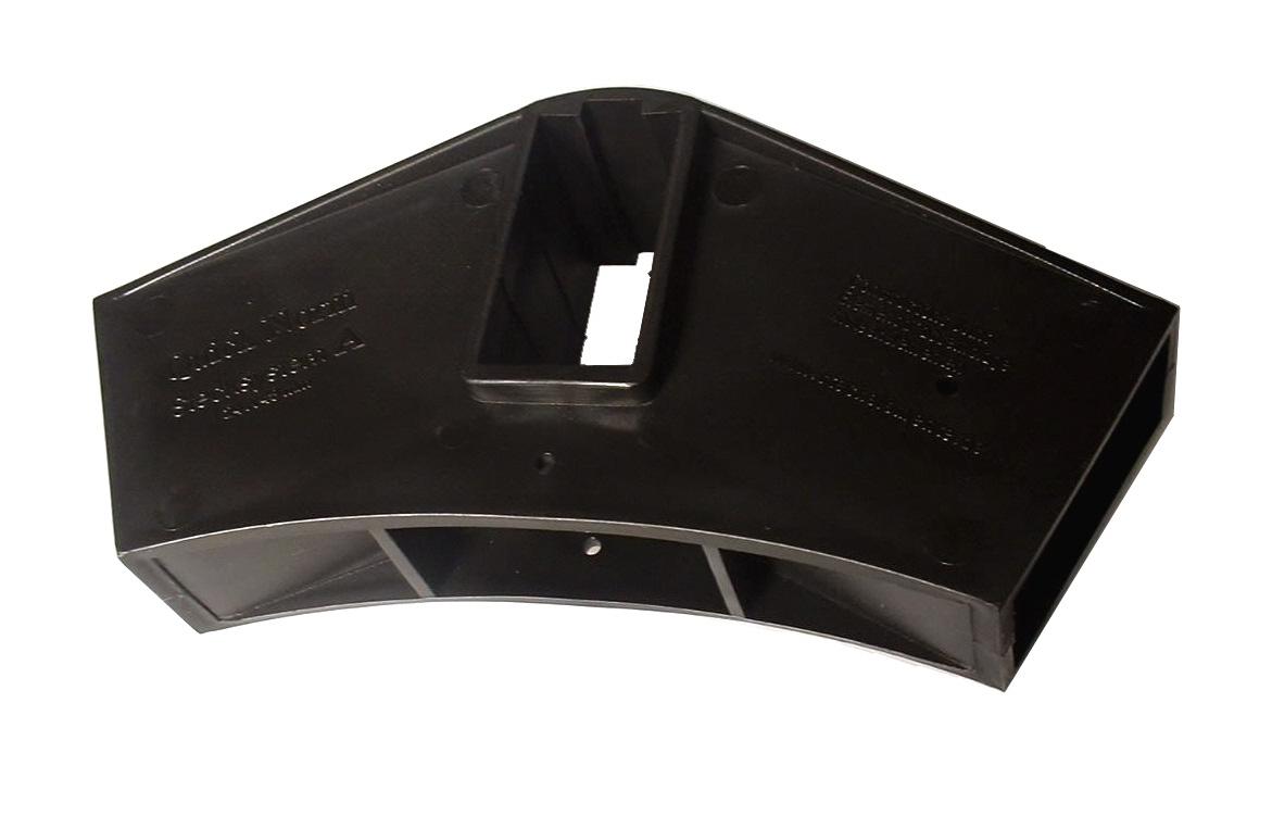 Quick-Norm (A) Steckverbinder für Gewächshaus Pavillion Zelt (schwarz)