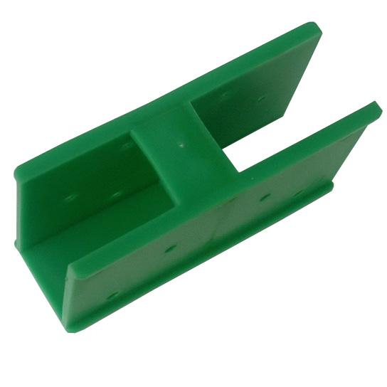 "Quick-Norm (E) ""Ecke"" 90° / 180° Steckelement, Steckverbinder, Stecksystem (grün)"