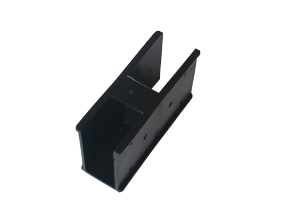 """Quick-Norm (E) """"Ecke"""" 90° / 180° Steckelemente, Steckverbinder, Stecksystem (schwarz)"""