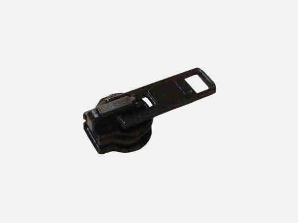 Zipper für unsere Reißverschlüsse Farbe: schwarz
