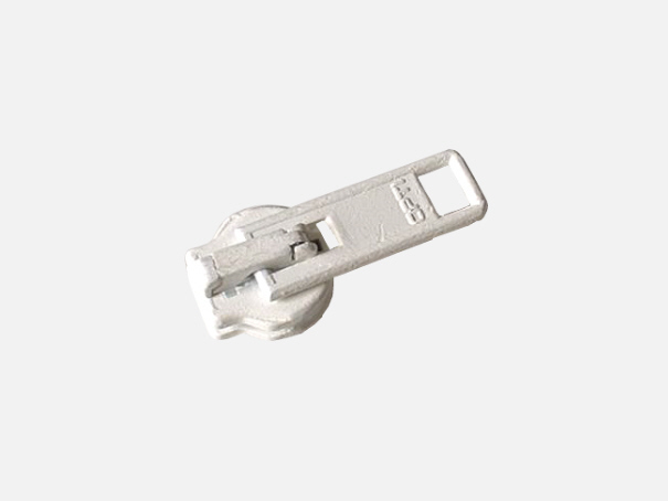 Zipper für unsere Reißverschlüsse Farbe: weiß