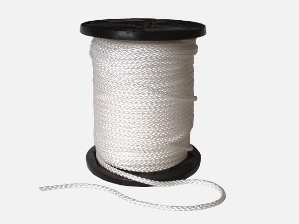 Spann-Seil, 4 mm auf der Rolle (100 Laufmeter)