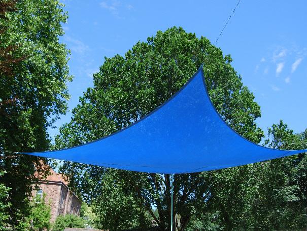 Sonnensegel, Sonnenschutzsegel 3 x 4 m mit Ösen alle 100 cm[03 1154 1 3 4]